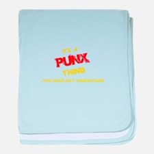 It's PUNX thing, you wouldn't underst baby blanket