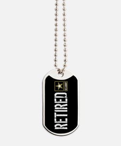 U.S. Army: Retired (Black) Dog Tags