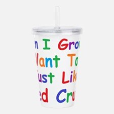 Funny When i grow up Acrylic Double-wall Tumbler