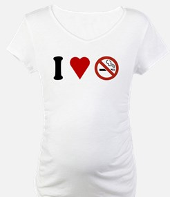 I Love No Smoking Shirt