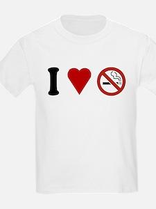 I Love No Smoking T-Shirt