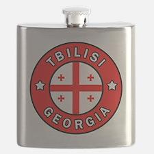 Funny I love georgia Flask