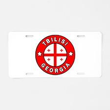Tbilisi Georgia Aluminum License Plate
