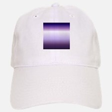 abstract lilac purple ombre Baseball Baseball Cap