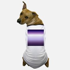 abstract lilac purple ombre Dog T-Shirt