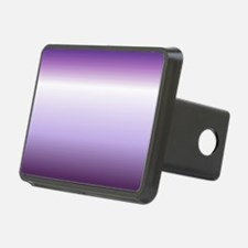abstract lilac purple ombr Hitch Cover
