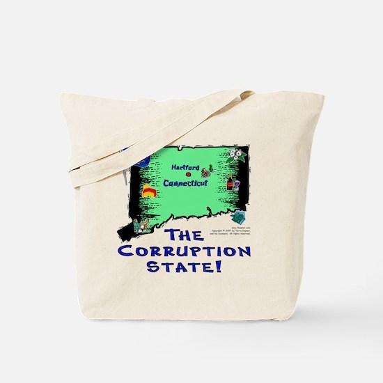 CT-Corruption! Tote Bag