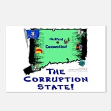 CT-Corruption! Postcards (Package of 8)