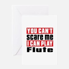 I Can Play Flute Greeting Card