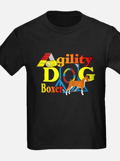 Boxer Agility Dog T-Shirt