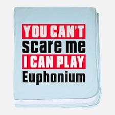 I Can Play Euphonium baby blanket