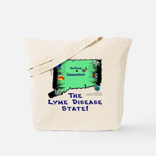 CT-Lyme! Tote Bag