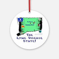 CT-Lyme! Ornament (Round)