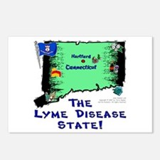 CT-Lyme! Postcards (Package of 8)