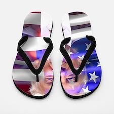 Unique America Flip Flops