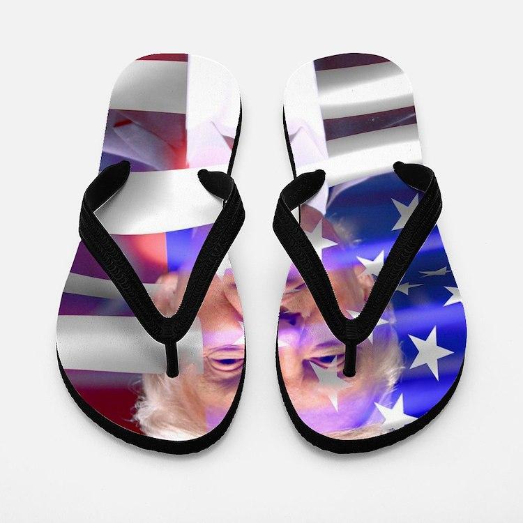 Cute Donald Flip Flops