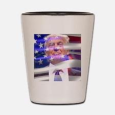 Funny Donald Shot Glass