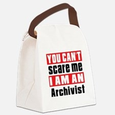 I Am Archivist Canvas Lunch Bag