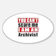 I Am Archivist Sticker (Oval)