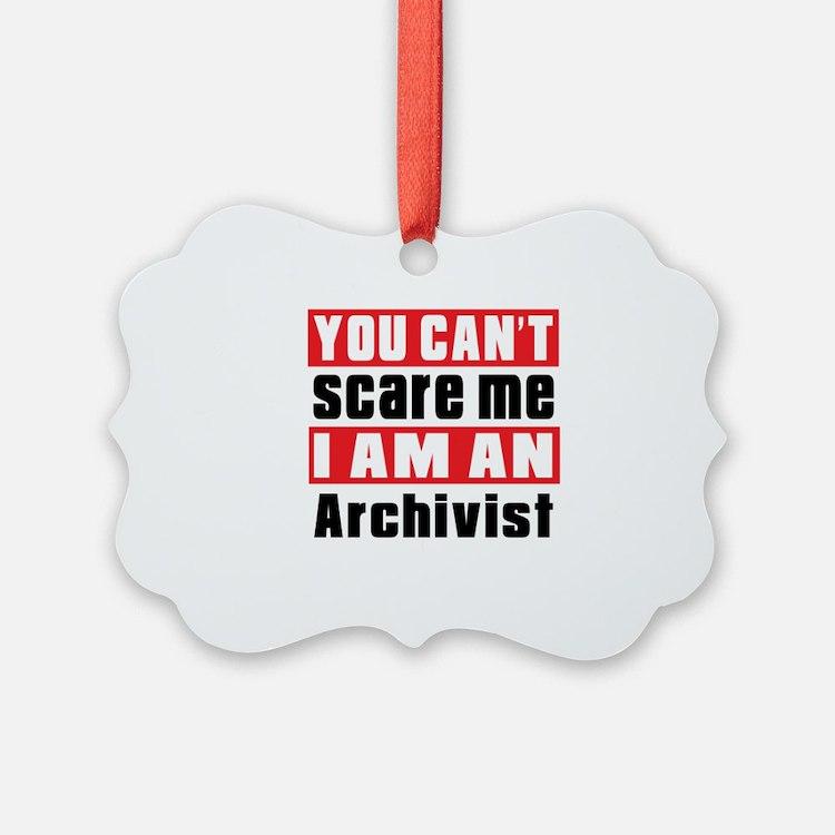 I Am Archivist Ornament