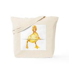 Cute Duck water Tote Bag