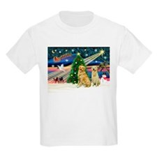 Xmas Magic & Golden pair T-Shirt