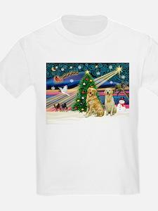 Xmas Magic & Golden pair T-Shirt