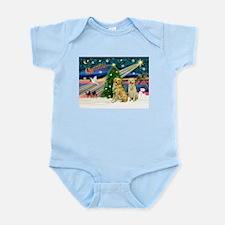 Xmas Magic & Golden pair Infant Bodysuit