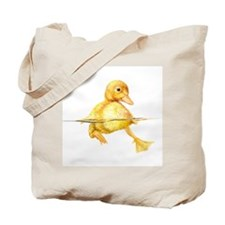 Unique Duck water Tote Bag