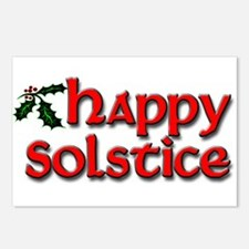 Happy Solstice Postcards (Package of 8)