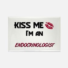 Kiss Me I'm a ENDOCRINOLOGIST Rectangle Magnet