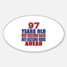 97 Getting More Ahead Birthday Decal