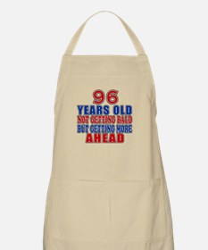 96 Getting More Ahead Birthday Apron