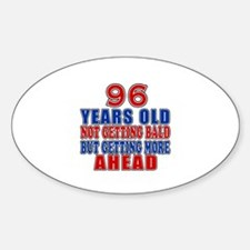 96 Getting More Ahead Birthday Decal