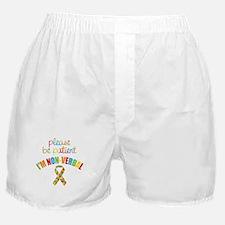 Non-Verbal Autistic Boxer Shorts