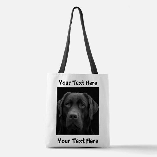Dog Labrador Retriever Polyester Tote Bag
