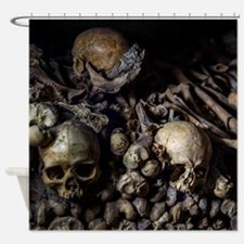 CATACOMBS Shower Curtain