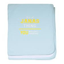JANAS baby blanket