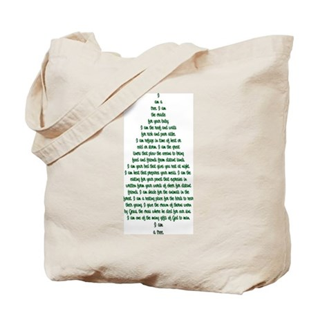 """I Am A Tree"" Tote Bag"