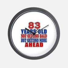 83 Getting More Ahead Birthday Wall Clock