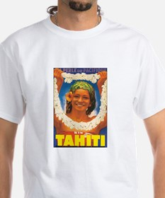 Vintage Tahiti Girl Shirt