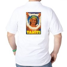 Vintage Tahiti Girl T-Shirt