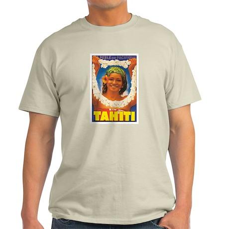 Vintage Tahiti Girl Light T-Shirt