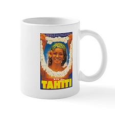 Vintage Tahiti Girl Mug