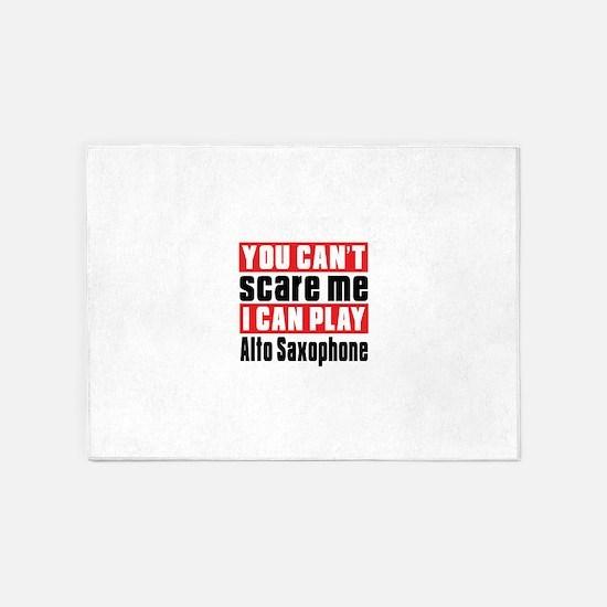 I Can Play Alto Saxophone 5'x7'Area Rug