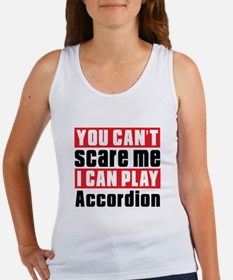 I Can Play Accordion Women's Tank Top