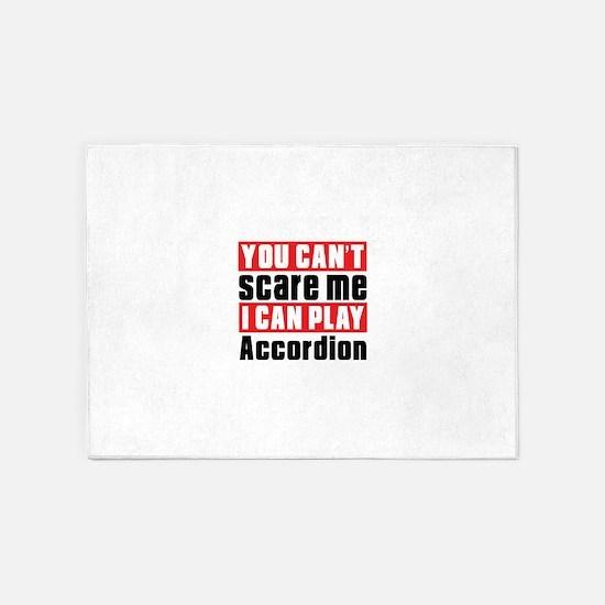I Can Play Accordion 5'x7'Area Rug