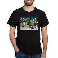 XmasMagic/3 Lhasas T-Shirt