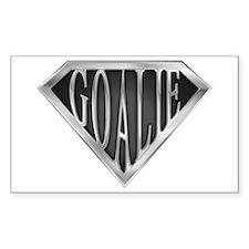 SuperGoalie(metal) Rectangle Decal