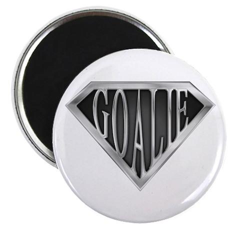 """SuperGoalie(metal) 2.25"""" Magnet (100 pack)"""